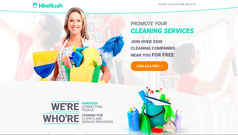 HireRush Cleaning