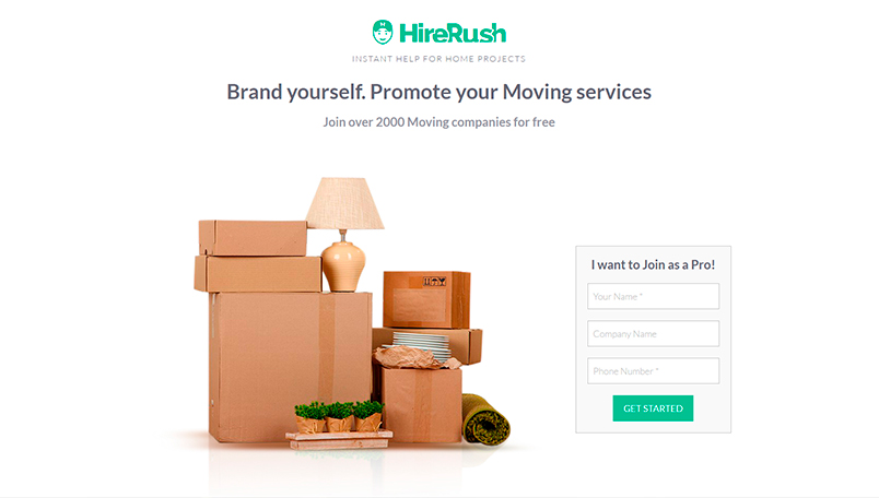 HireRush Moving