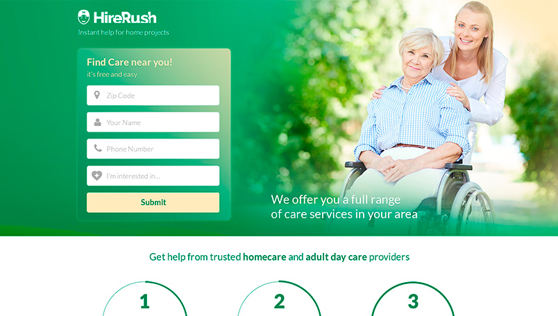HireRush Adult Care